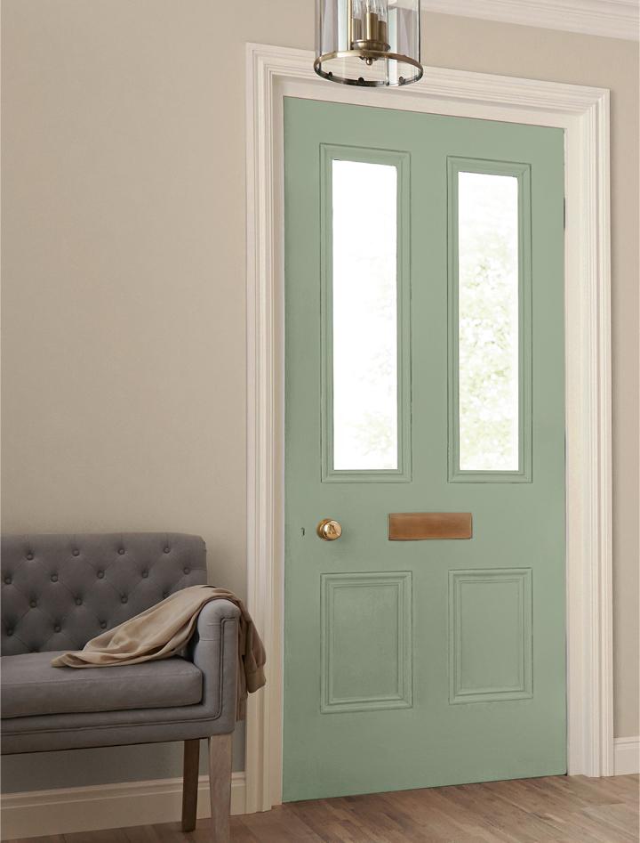 Mellow sage gloss quick dry crown paints - Crown exterior wood paint colours ...